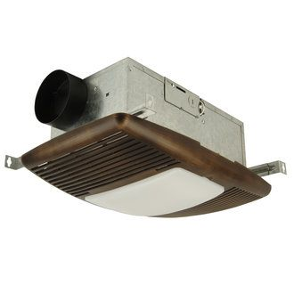 Craftmade Tfv70hl Contemporary Modern 70 Cfm Ventilation Fan Light Combination With Heater