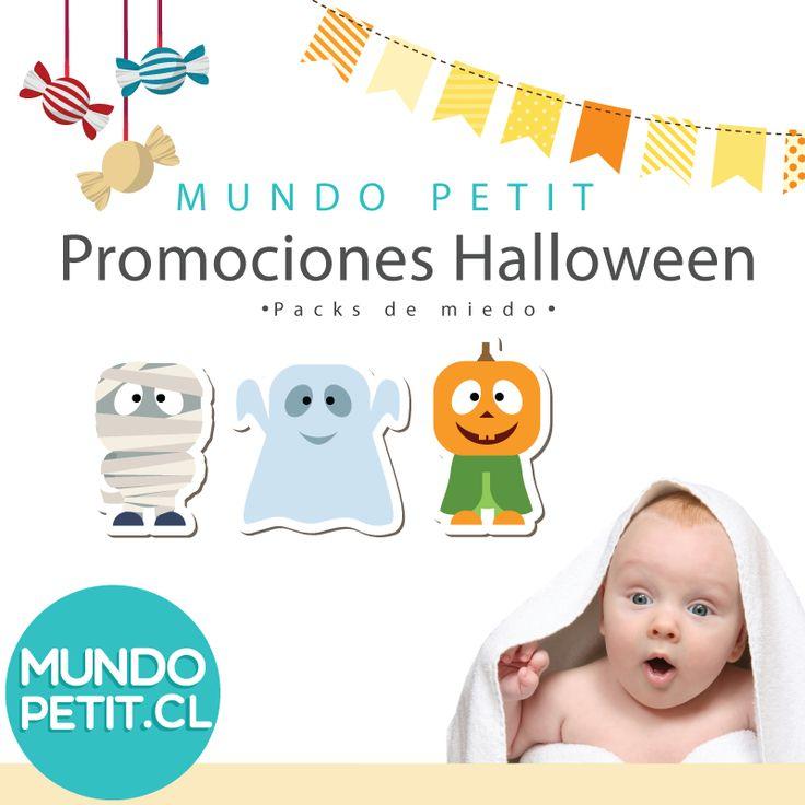 Packs de miedo en Mundopetot.cl Promociones Halloween!