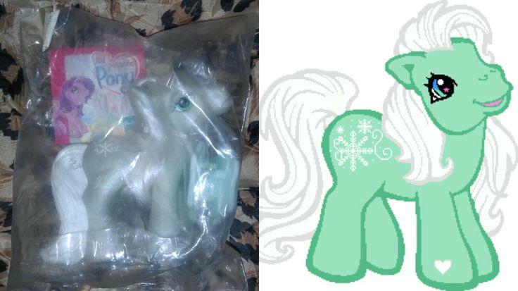 Mi pequeño Pony Colección McDonalds 2004 WinterSnow Hasbro