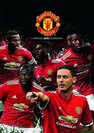Manchester United Official 2018 Calendar - A3 Poster Format