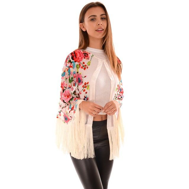 Get over to the Jayley website and grab yourself the perfect festival cape for the summer! Beautifully handpainted devore!!! #weknowthekimono #cape #fashion #art #women #jayley