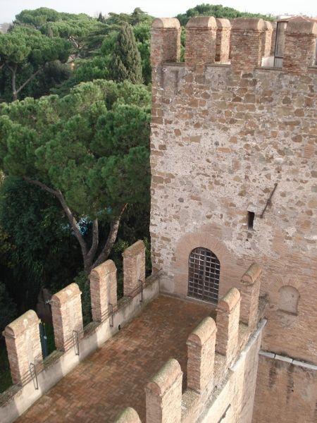 Walk along the Ancient Roman Walls at the Museo delle Mura