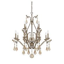Adorned With Elegant Beading And Beautiful Crystal Accents, This Sweeping  Candelabra Inspired Chandelier Impresses In The Foyer Or Above Your Dining  Room ...