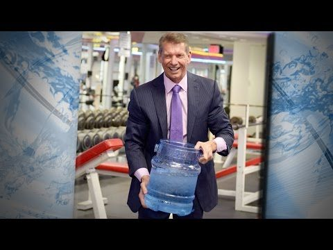 """Vince McMahon takes part in the """"Ice Bucket Challenge"""" http://youtu.be/XMg3Na1Rl80"""