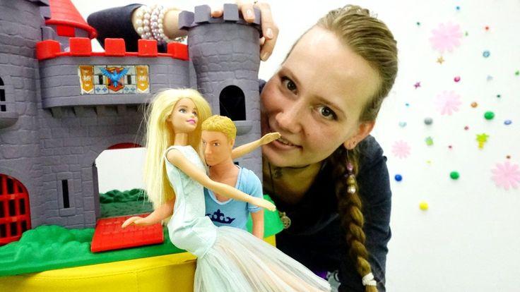Видео для девочек: куклы БАРБИ. Кен спасает Барби. Игры для девочек. barbie
