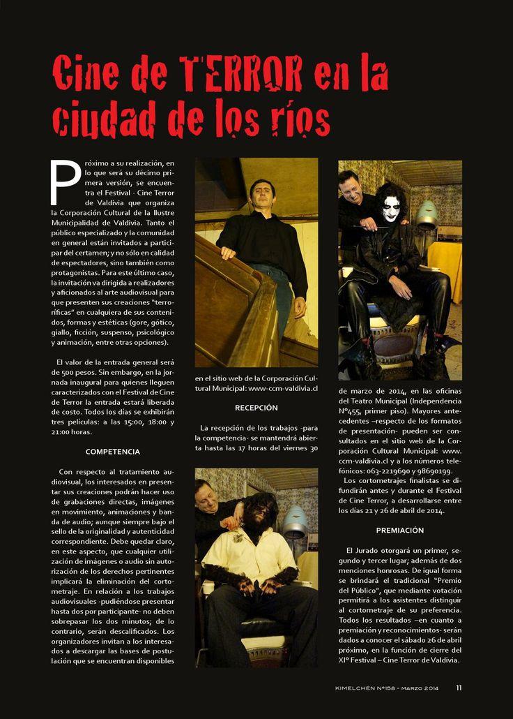 Revista Kimelchén Marzo 2014