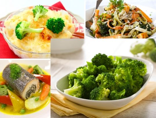 15 рецептов с капустой брокколи