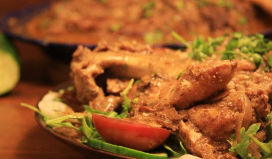 Turkey Curry Recipe for the Slow Cooker