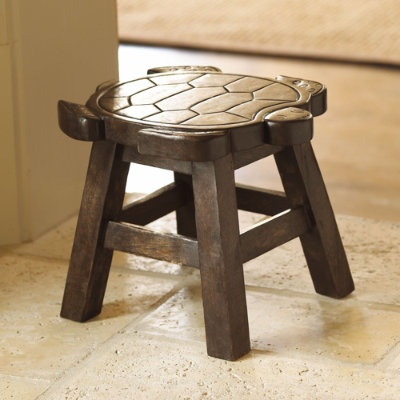 turtle chair wood