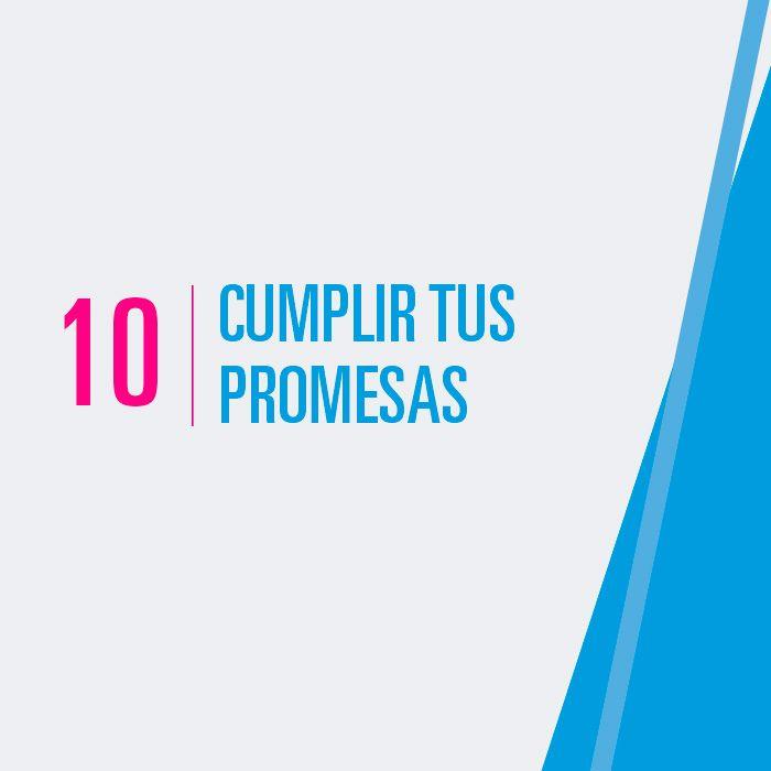 Cumplir tus promesas