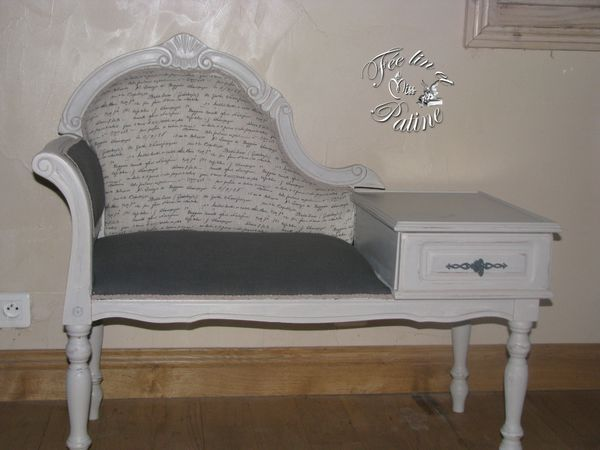 1000 id es sur le th me gossip bench sur pinterest table for Copie meuble ancien