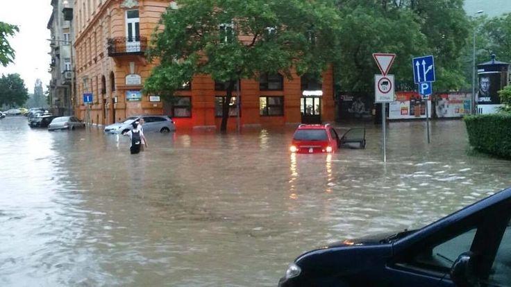 Rég nem látott özönvíz zúdult kedd este az országra - 444