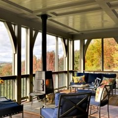59 best 4 season room ideas images on pinterest four for Wood burning stove for screened porch