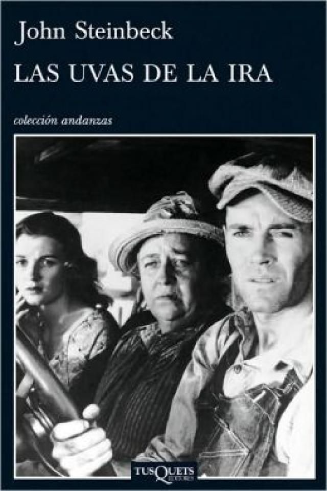 6 libros de escritores ganadores del premio nobel que deberías leer: Las uvas de la ira, de John Steinbeck, Premio Nobel de Literatura 1962