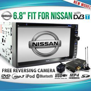 Nissan CAR GPS DVD Player Dual DVB-T TV Stereo Radio Navara X-Trail Patrol Pathf