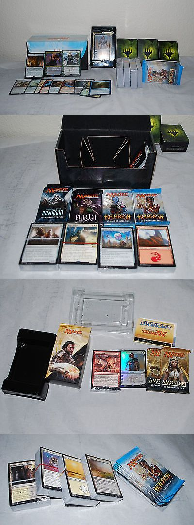 MTG Sealed Booster Packs 19109: Huge Lot Of Magic The Gathering Cards And Packs And Decks - Nissa Gideon Mtg -> BUY IT NOW ONLY: $75 on eBay!