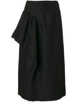 юбка с драпировкой