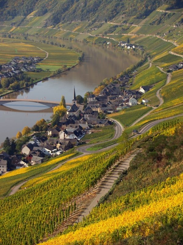 Mosel River, Germany by Eva0707