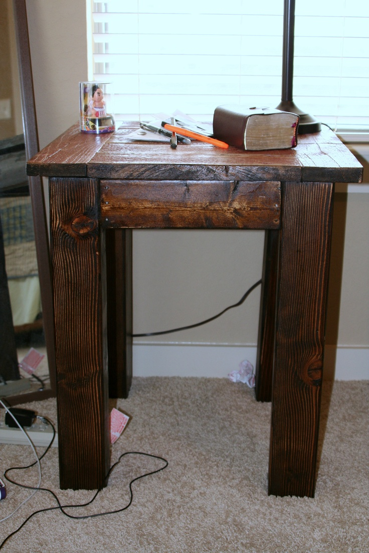 Gotta Love Ana Whiteu0027s Furniture Plans!! I Made That Bedside Table From Old  Barn