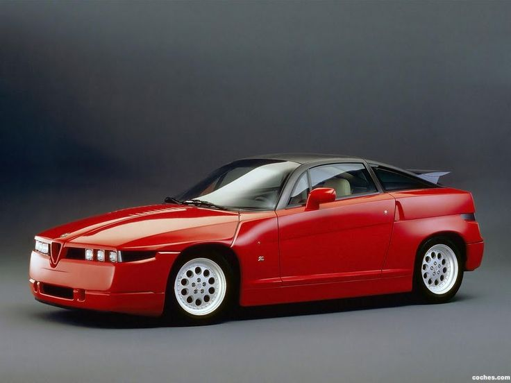 1989 Alfa SZ Sprint Zagato - A no-compromise design, but pretty cute, in a brutal sort of way....K