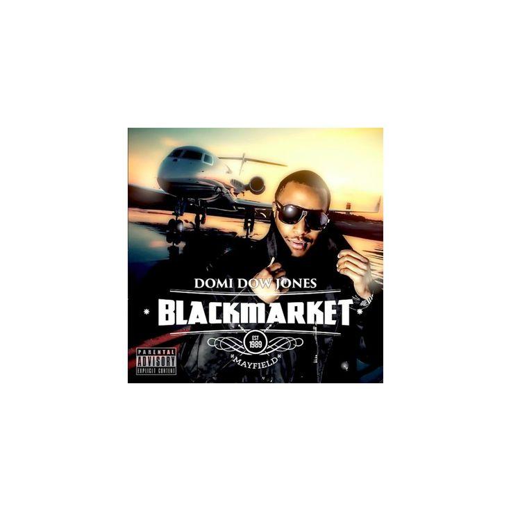 Domi Dow Jones - Blackmarket (CD)