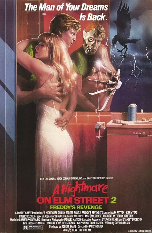 A Nightmare on Elm Street Part 2: Freddy's Revenge Movie Poster - Internet Movie Poster Awards Gallery
