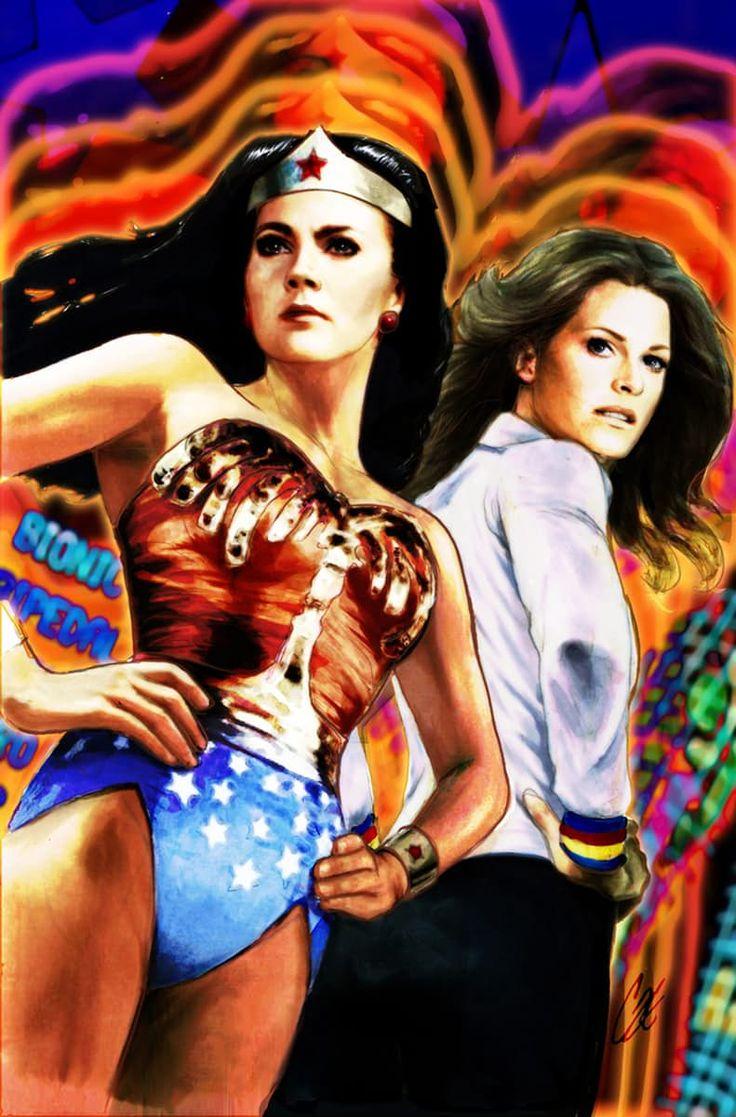 tondorajudit: Wonder Woman '77 Meets The Bionic Woman project st...
