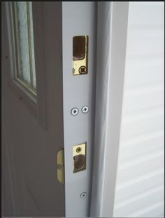 REBAR DOOR SECURITY DEVICE; our universal fitting HIGH SECURITY door frame and jamb reinforcement strike plate kits laminate your existing door frame with HEAVY DUTY SOLID 14 GAUGE STEEL giving your door frame, jamb and casing INSURMOUNTABLE KICK-PROOF STRENGTH ! Every REBAR Door Security Device is backed by our 100% LIFETIME GUARANTEE.