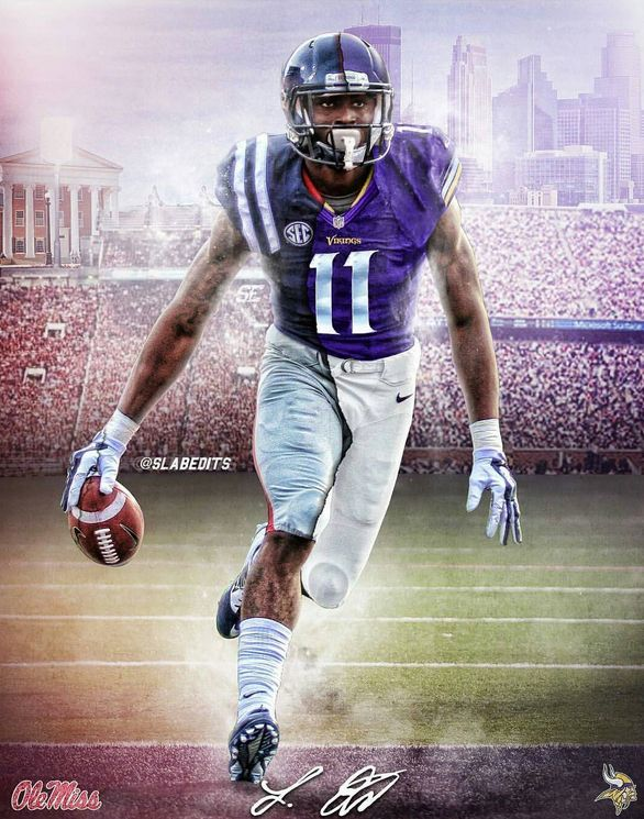 Laquon Treadwell #11 WR -- Vikings No. 1 2016 draft pick He's gonna do GREAT things!!