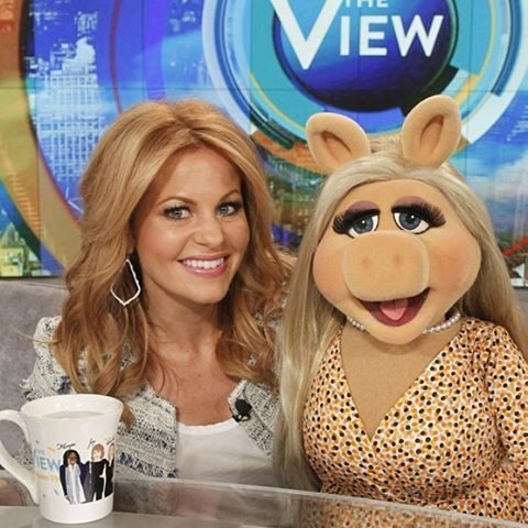 A highlight interview for me with Miss Piggy!