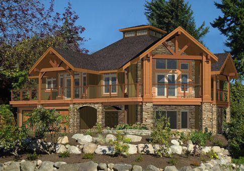 "Cedar ""log"" homes up north (MI)"
