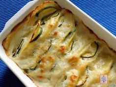 PATATE  zucchini  gratinati - ricetta-facile