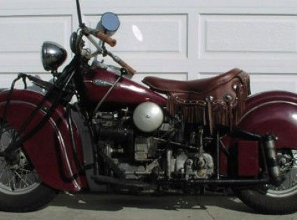 1941 Indian Four - Classic Motorcycles for Sale - Classic Motorcycle Consignments - 949-254-6551 California, USA