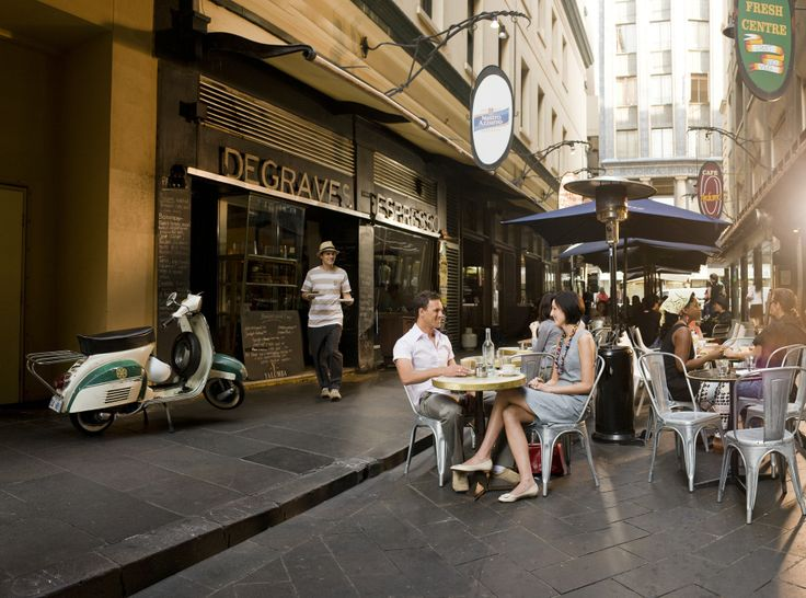 Get your caffeine fix at Degraves Espresso