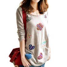 2015 nova moda outono mulheres Hoodies mulheres manga comprida com capuz Floral bordado das mulheres Plus Size(China (Mainland))