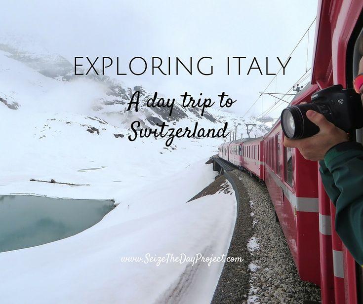 Take an incredible day trip from Lake Como to Switzerland via the Bernina Express
