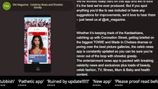 OK Magazine  Celebrity News and Showbiz Gossip iPhone & iPad review