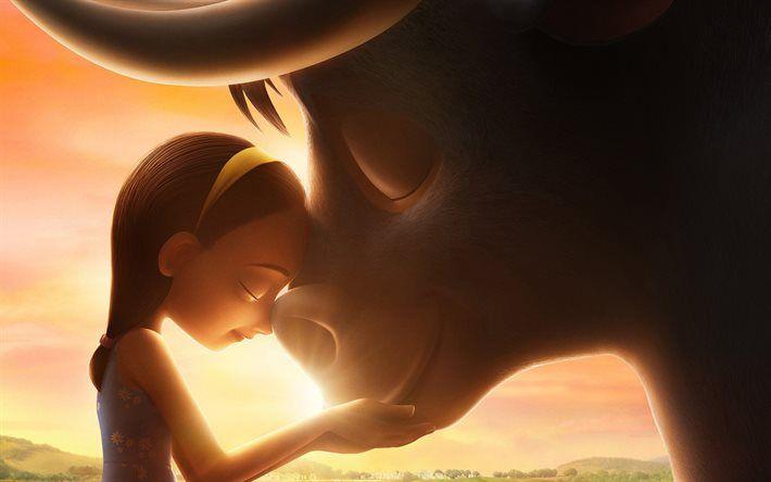 Lataa kuva Ferdinand, 2017, Uusia sarjakuvia, juliste, Historian Ferdinand, buffalo