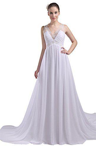 jaeden charming a line woman beach wedding dresses formal evening gown ivory us8 jaeden http