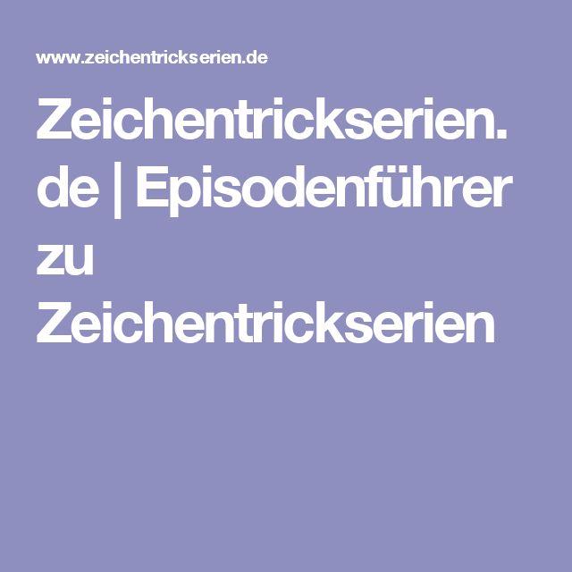Zeichentrickserien.de | Episodenführer zu Zeichentrickserien