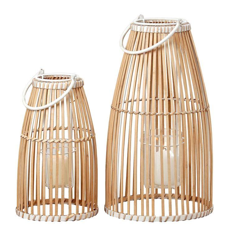 Windlicht Flint (2-teilig) - Bambus massiv, Eva Padberg Collection Jetzt bestellen unter: https://moebel.ladendirekt.de/dekoration/kerzen-und-kerzenstaender/windlichter/?uid=f47f58be-92a0-5cbb-8bcc-87f66685dffb&utm_source=pinterest&utm_medium=pin&utm_campaign=boards #kerzen #accessoires #kerzenstaender #windlichter #kerzenständer #dekoration