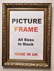 Antique Gold Picture frame 60mm wide, All Sizes|Picture Frames|Photo frames