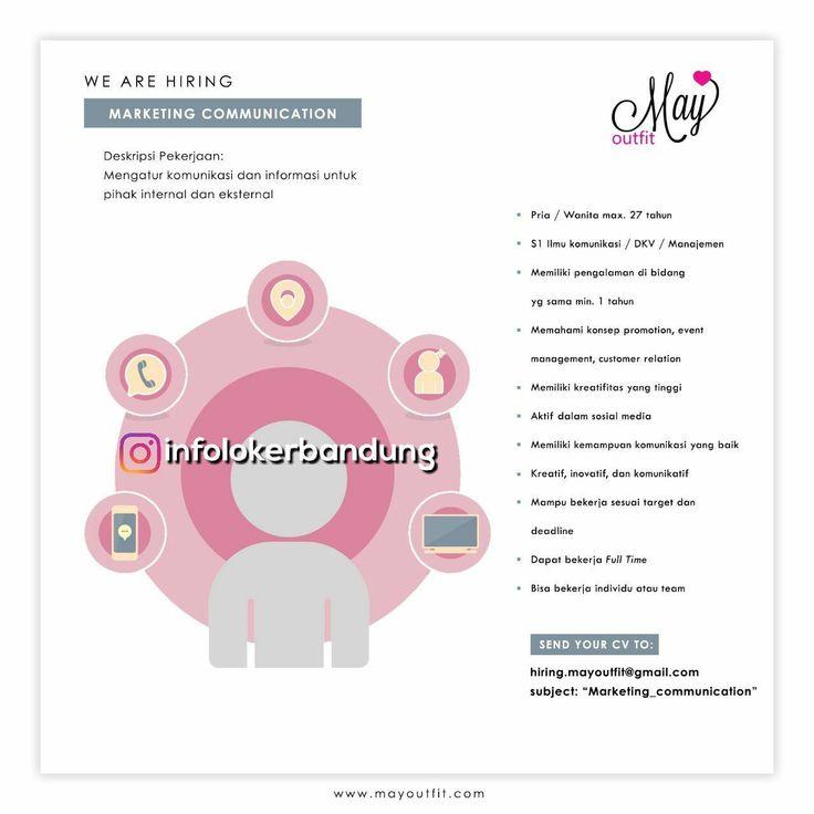 Lowongan Kerja Marketing Comunicaton di Mayoutfit Bandung Januari 2018