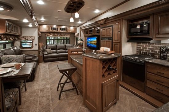 < Heartland Luxury Fifth Wheels | Heartland RVs You know its the perfect trailer when it has storage space for wine!