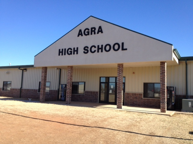 Agra High School in Oklahoma. Students that Sew - 43