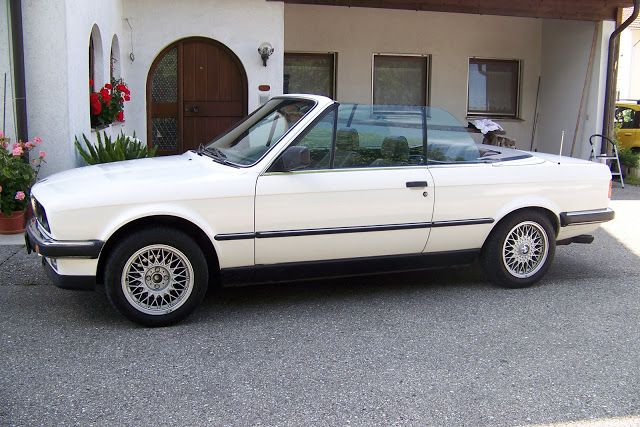 Agentur für Young- und Oldtimer Vermietung zu Werbe- und Schauzwecken: BMW 325i CABRIO 1986