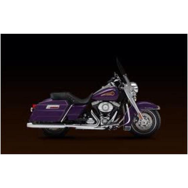 Purple Motorcycle!