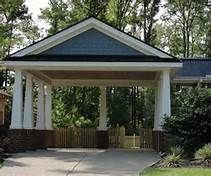 398 best images about carports garages on pinterest for Building a detached garage on a slope