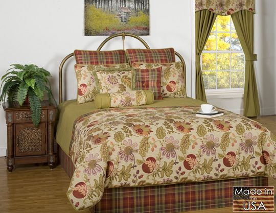 57 best images about floral bedding on pinterest a cottage style bed quilts Antique Style Quilts