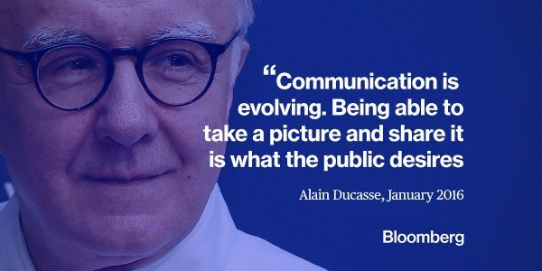 Communication is evolving... Bloomberg